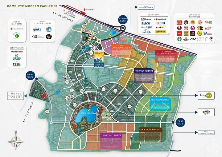 Master plan Monte Torena